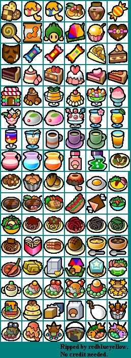 Paper Mario The Thousand Year Door Recipes by Wii Paper Mario Recipes The Spriters Resource