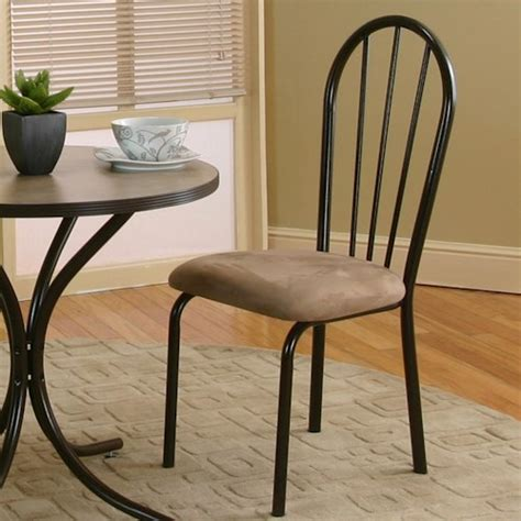 Cramco Furniture by Cramco Inc Linen Microsuede Dining Side Chair In Java