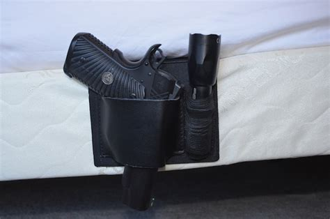 bed holster gear review sharkgunleather bed mattress gun holster with