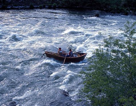 big boats are called a drift boat also called a mckenzie river dory at