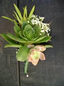 Boutonniere Prom Succulent Boutonniere Theflowerstandlaguna S Blog