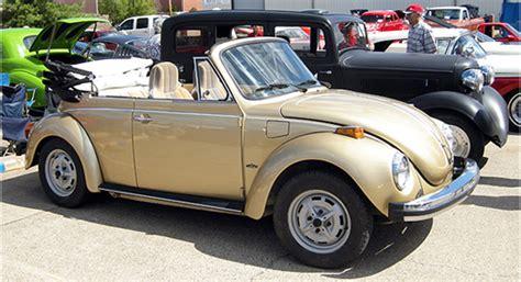 gold volkswagen beetle 1974 volkswagen vw gold sunbug convertible