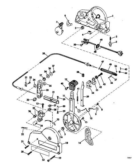 boat throttle control box diagram omc throttle control box parts diagram omc free engine