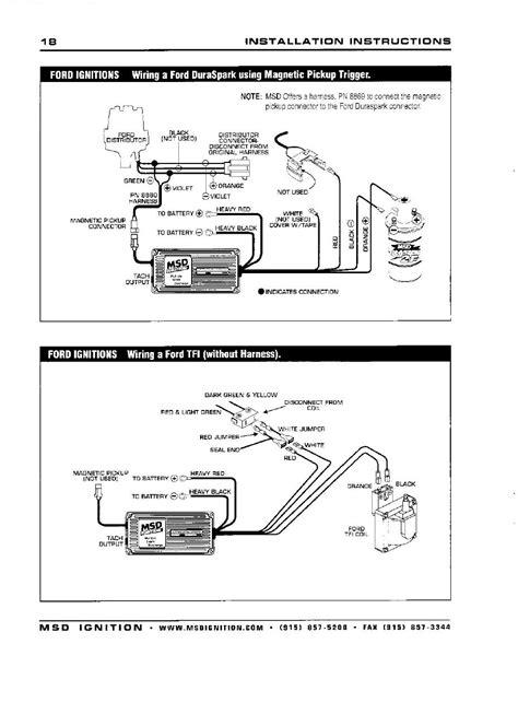 msd 6al wiring diagram msd digital 6a wiring diagrams ford