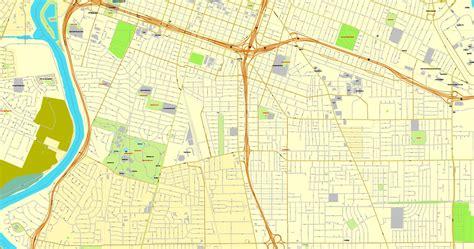 us map sacramento california sacramento california us printable vector map