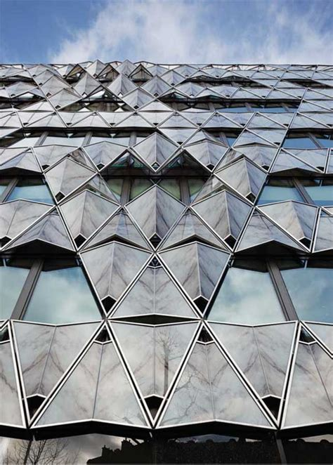Origami Roof - origami building barclays capital bank e architect