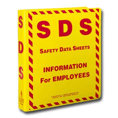 Chemical Safety Portal Sds Binder Template