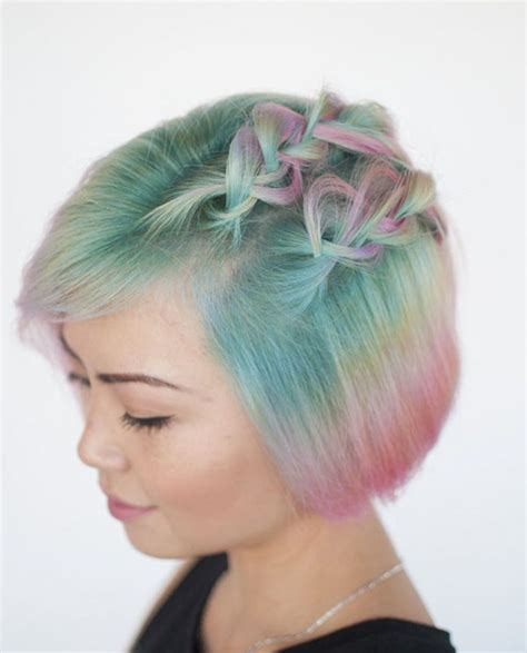 cute hairstyles rainbow cool rainbow hairstyle ideas for young girls hairzstyle