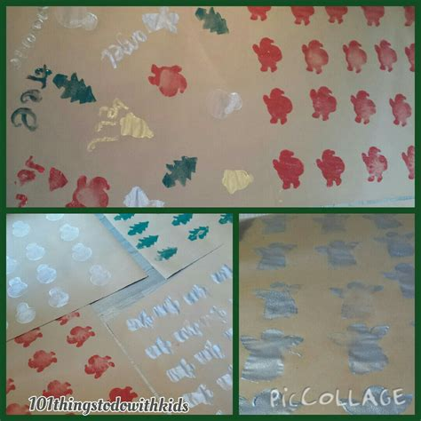 Make Wrapping Paper - make your own wrapping paper 101 things to do with