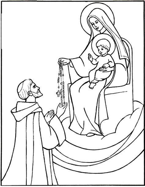 Coloring Pages For St saints coloring pages