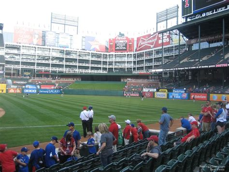 what is section 35 globe life park section 35 rateyourseats com