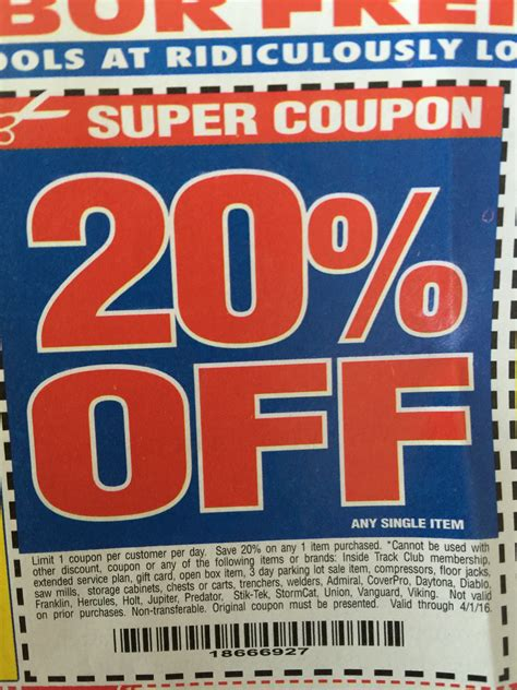 harbor freight coupons 20 off printable harbor freight coupons printable 2013 july home design idea