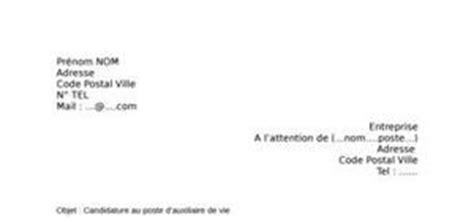 Stage Auxiliaire De Vie Lettre De Motivation Lettre De Motivation Auxiliaire De Vie