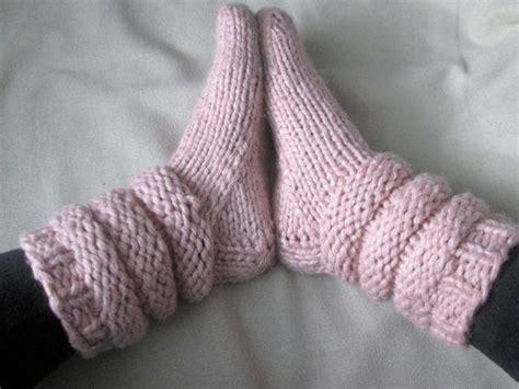 knitting pattern thick socks 25 best ideas about slipper socks on pinterest slippers