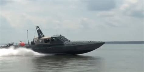 Drone Buat us navy launches robot swarm of deadly drone boats huffpost uk