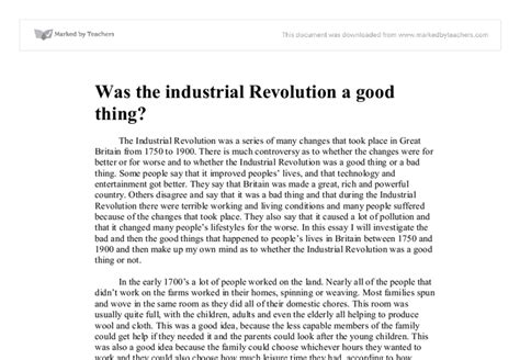 Industrial Revolution Essay Questions by How To Write Papers About Essay On The Industrial Revolution