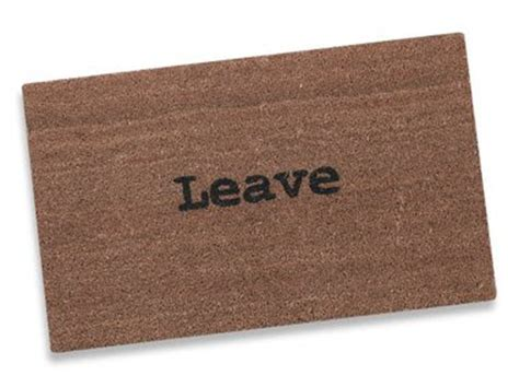 Leave Doormat Leave Doormat Picture Image By Tag