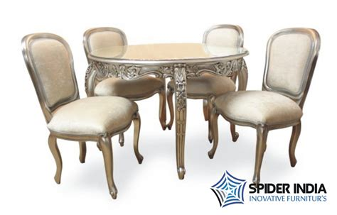 silver dining table silver inlay dining table set silver inlay dining table