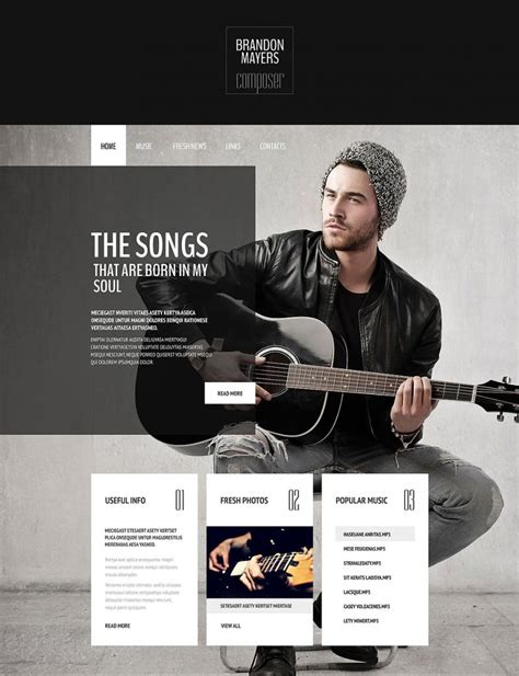 Free Website Portfolio Templates by 36 Portfolio Website Themes Templates Free Premium