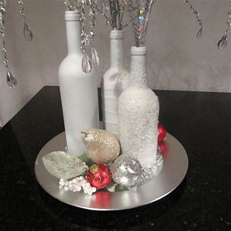 decorate wine bottle for christmas decorating wine bottles for thoughts on repurposed wine bottle centerpiece how to