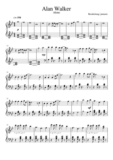 alan walker spectre chords alan walker alone download pdf piano sheet music piano