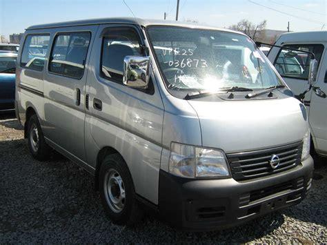 2004 nissan caravan pictures 2000cc gasoline manual