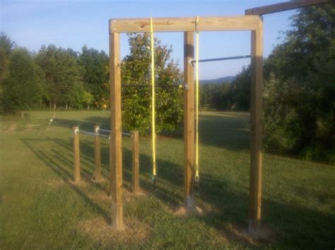 diy backyard jungle gym outdoor furniture design  ideas