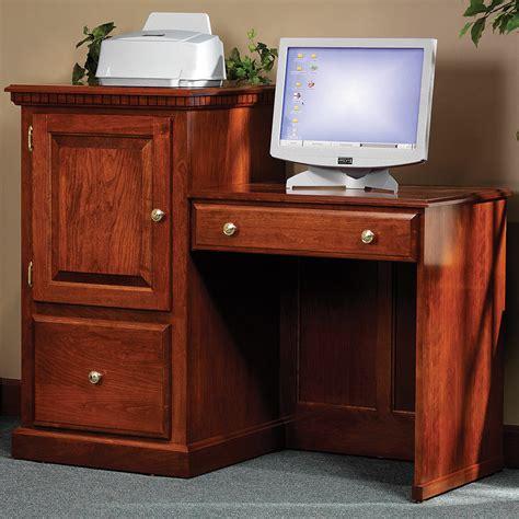 2 level computer desk heirwood 2 level computer desk handmade amish desk