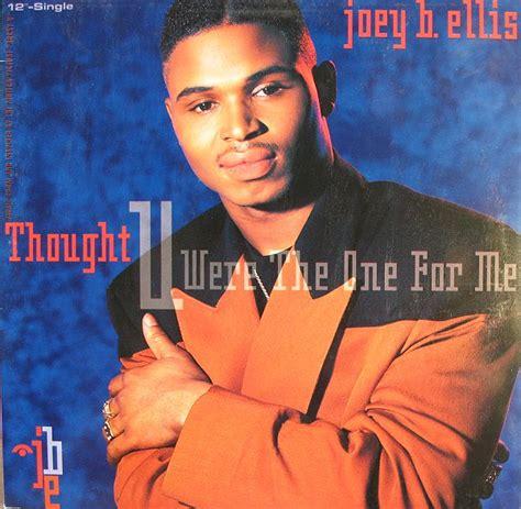 joey b ellis joey b ellis thought u were the one for me records vinyl