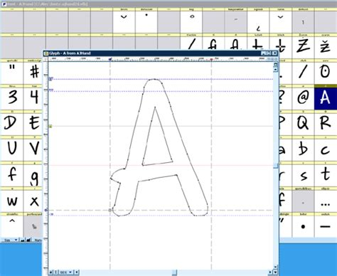 how to create your own fonts and edit truetype fonts design your own font btec graphic design
