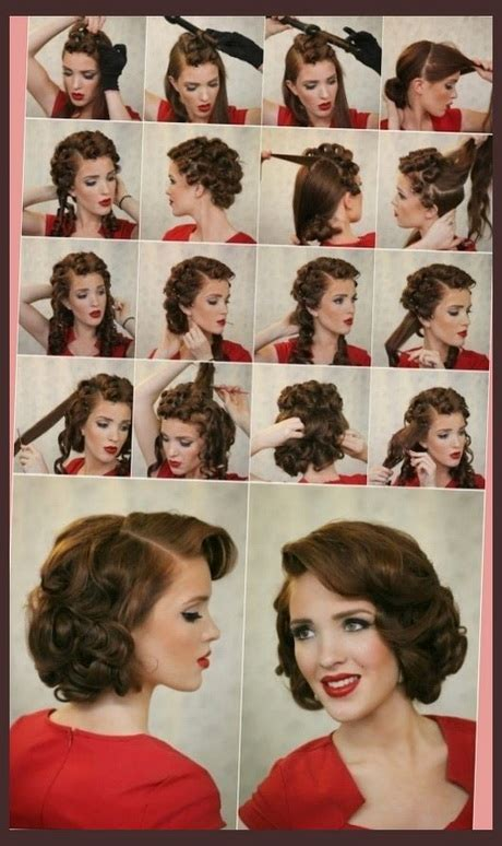 diy 1950 hairstyle 1950 hairstyles tutorial www pixshark com images