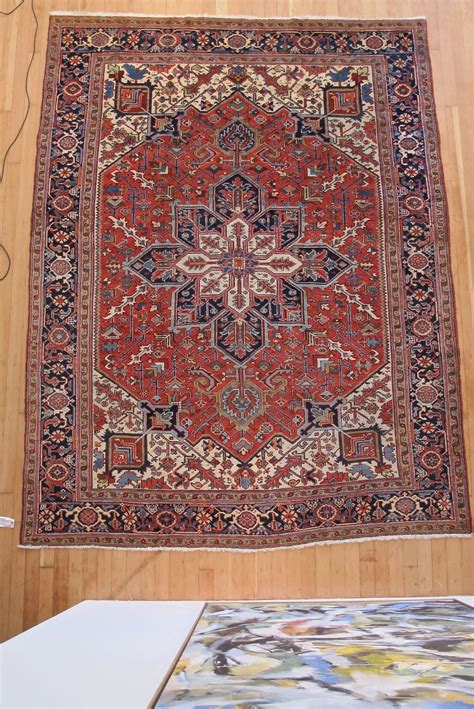 antique heriz rug for sale at 1stdibs
