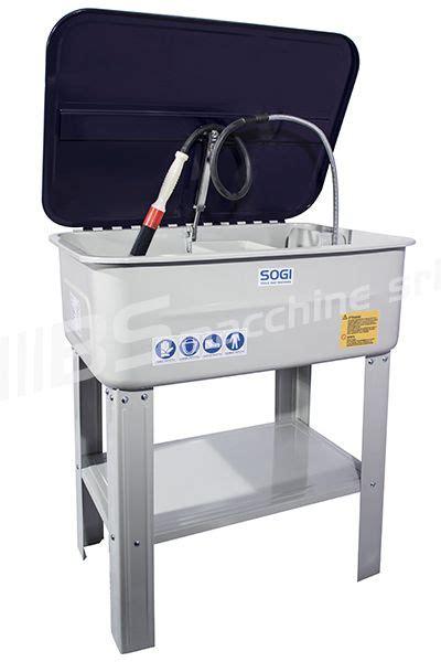vasca lavaggio officina vasca di lavaggio con pompa a recupero sogi sp lv e per