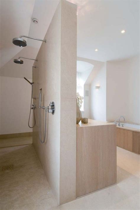 Bathroom With Open Shower 25 Open Shower Ideas