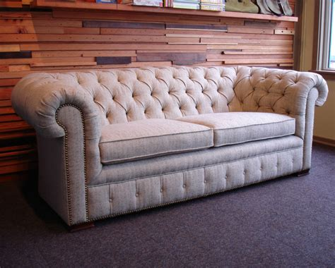Chesterfield Sofa Traditional Sofas Portland By Traditional Chesterfield Sofa