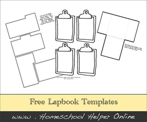 lapbook templates free science lapbooks