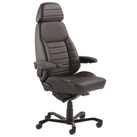 officemax chairs kab executive 24 7 chair with arms headrest black
