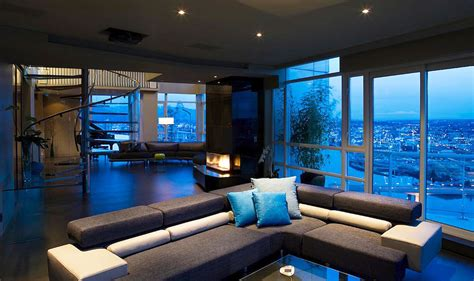 stunning penthouse  vancouver  feenstra architecture