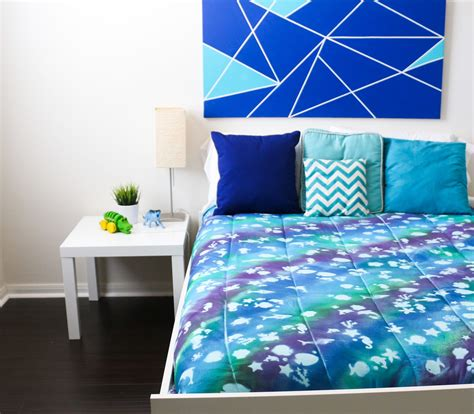 Diy Comforter by Diy Kid S Comforter Pssst It S Stenciled With Stickers