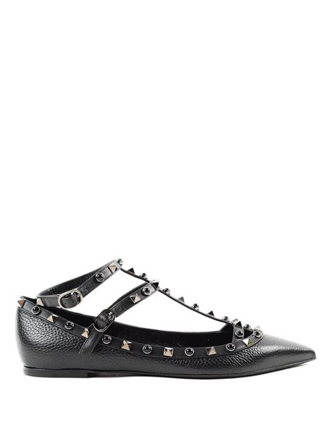 valentino shoes flats rockstud rolling flats by valentino garavani flat shoes
