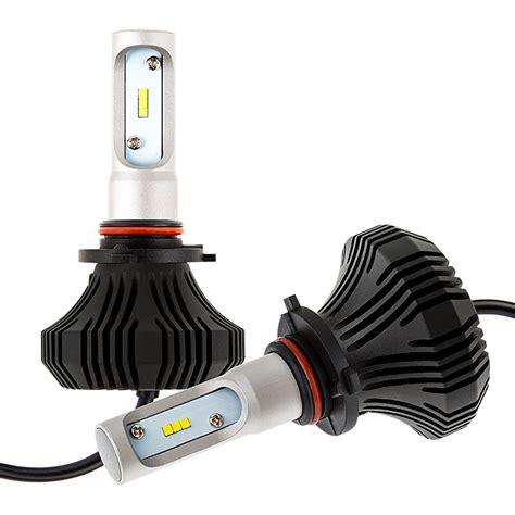 h11 le led headlight kit 9005 led fanless headlight conversion