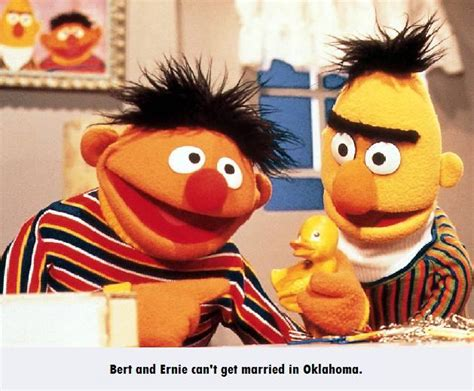 Ernie Meme - bert and ernie can t get married bertstrips know your meme