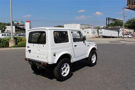 suzuki jimny 1991 1991 suzuki jimny turbo samurai rhd import 660cc