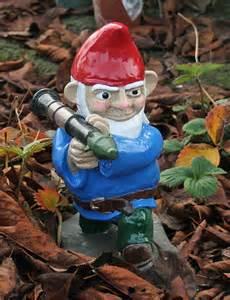 Gnomes Gun News Blog Combat Garden Gnomes