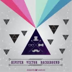 imagenes hipster triangulo fondo hipster con tri 225 ngulos descargar vectores gratis