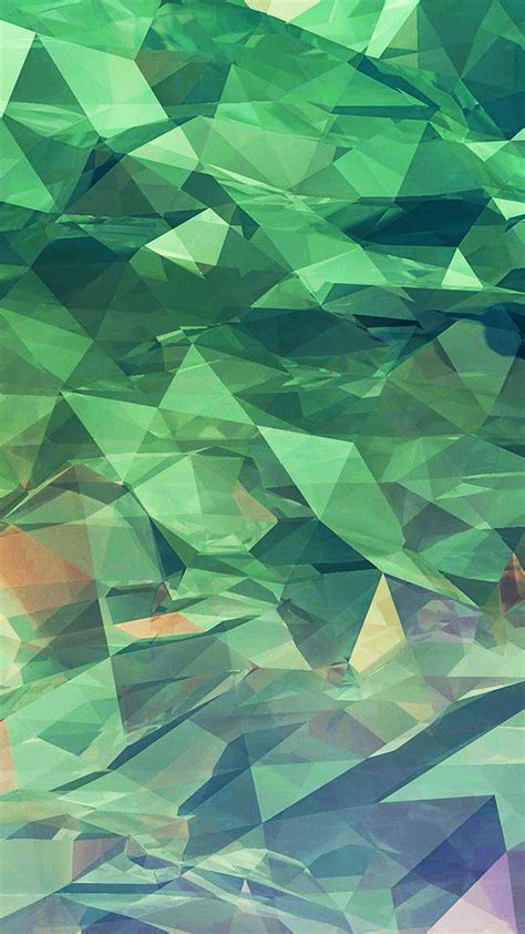turquoise shattered glass pattern android wallpaper
