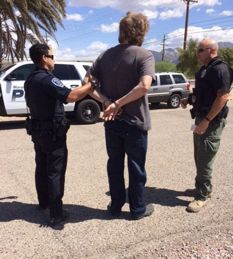 Tucson Dui Arrest Records Marana Arrest Nine In Warrant Sweep Crime Tucson