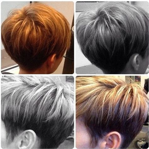 hair cuts from behind 18 latest short layered hairstyles short hair trends for