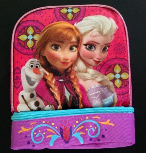 Disney Frozen Lunch Box Pink disney s frozen pink lunch box elsa olaf new lunchbox