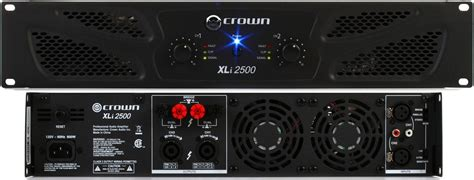 Power Lifier Crown Xli 2500 پاور آمپلی فایر کرون crown xli 2500 power lifier